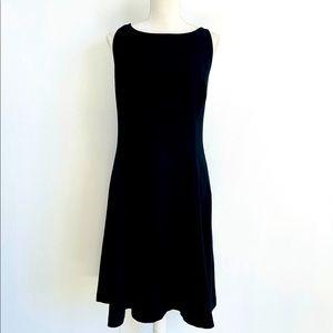 Linda Allard Ellen Tracy Black Dress